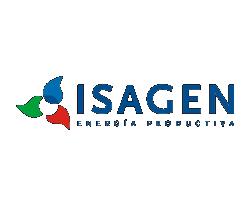 Logo clientes mad agencia publicidad digital audiovisual Isagen