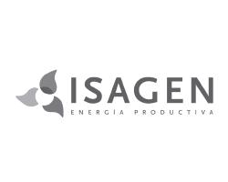 Logo clientes mad agencia publicidad digital audiovisual gris Isagen