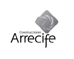 Logo clientes mad agencia publicidad digital audiovisual gris Construcciones Arrecife