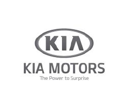 Logo clientes mad agencia publicidad digital audiovisual gris Kia Motors
