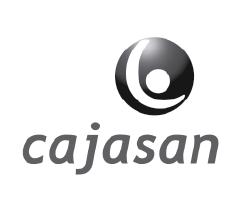 Logo clientes mad agencia publicidad digital audiovisual gris Cajasan
