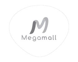 Logo clientes mad agencia publicidad digital audiovisual gris Megamall