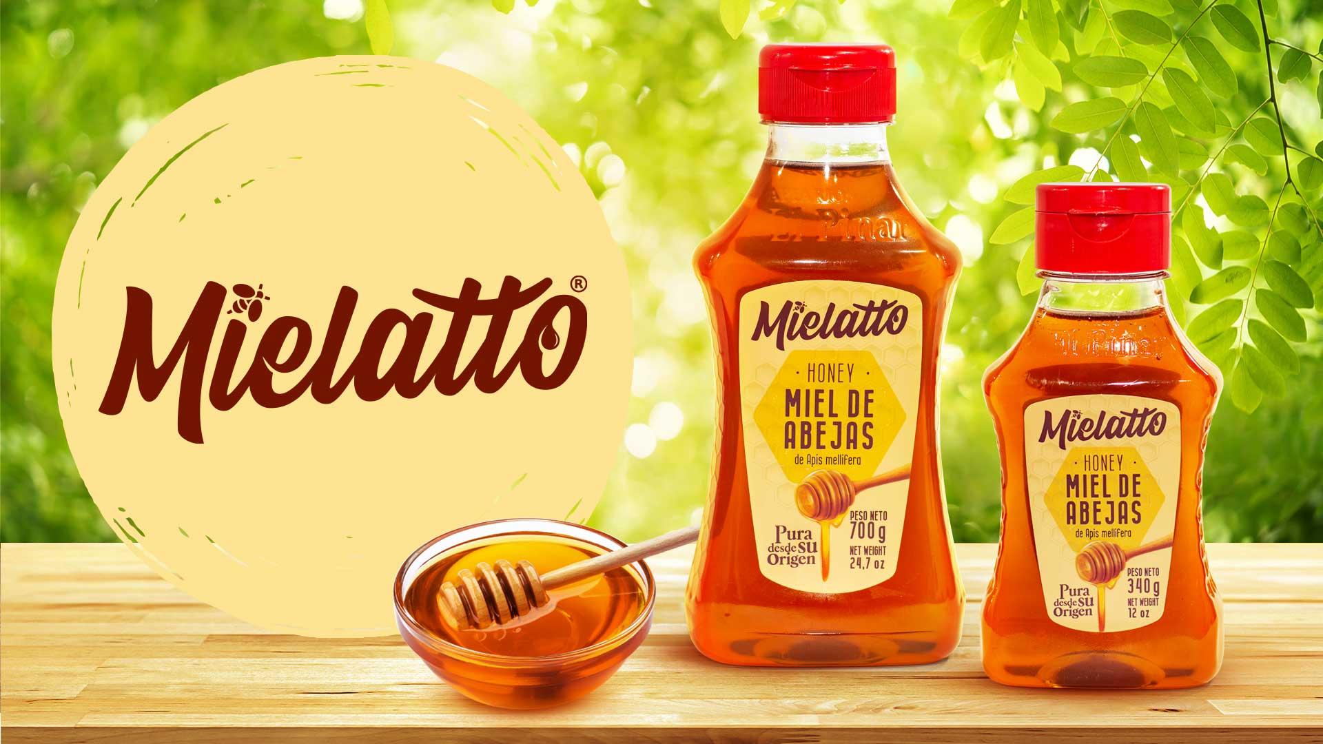 Diseño de marca, etiquetas y fotografías MIELATTO
