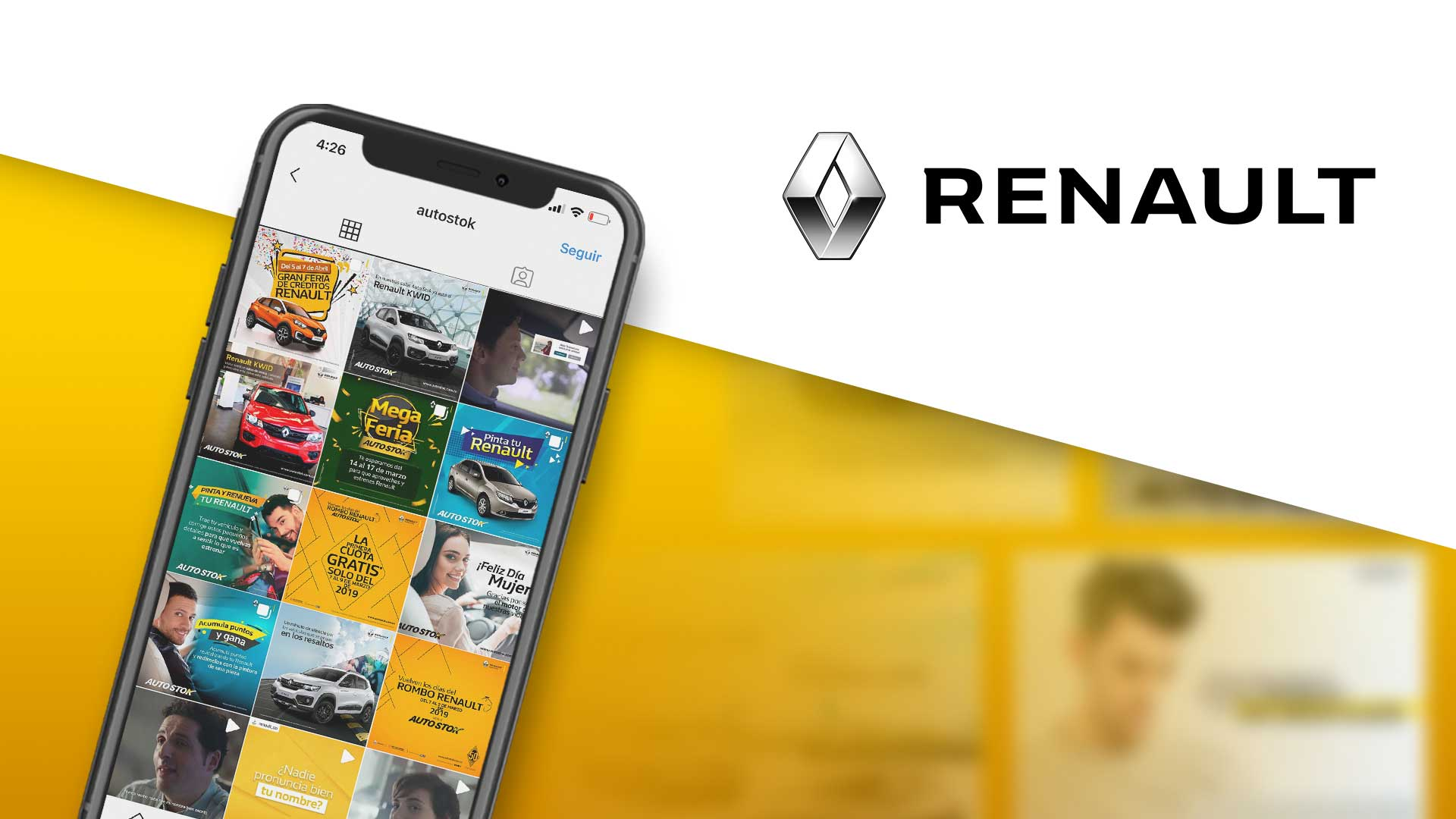 Marketing digital Renault