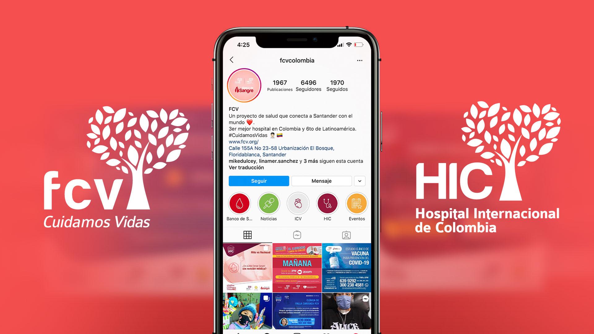 Marketing Digital FCV - HIC - MAD agencia