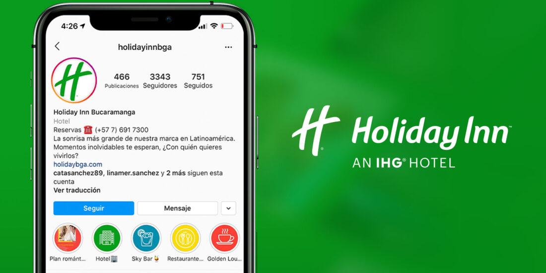 Marketing Digital para el HolidayInn - MAD agencia