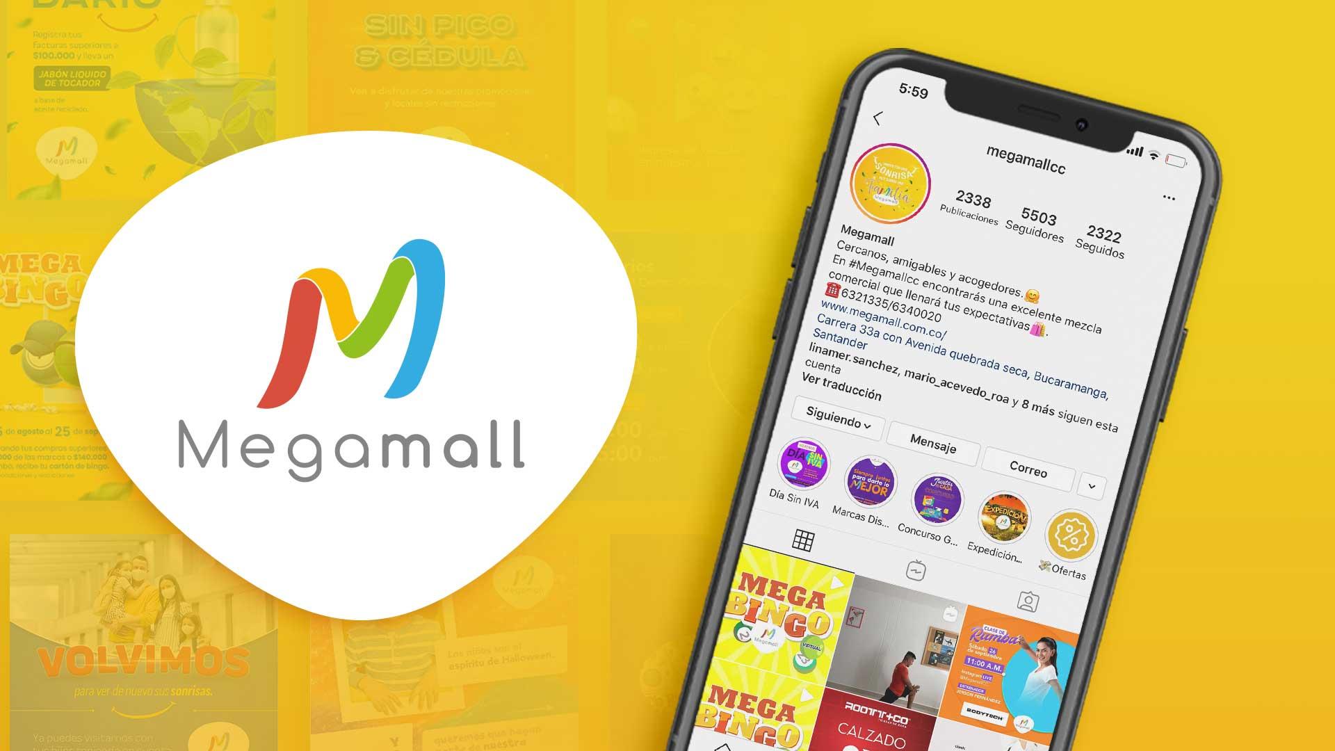 Marketing Digital Centro Comercial Megamall